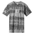 Load image into Gallery viewer, HUF Horizons Striped T Shirt Mens Printed Tee Charcoal