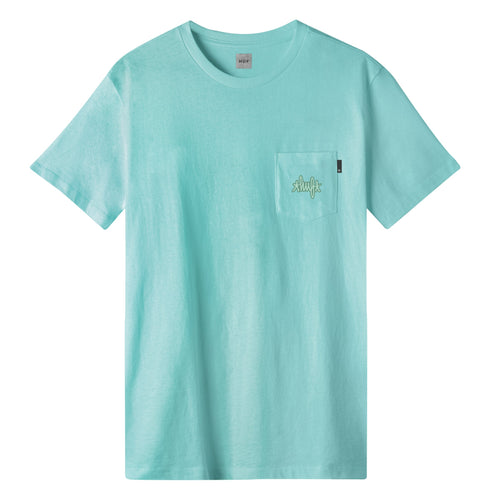 HUF HUF Haze Pocket T-Shirt Celadon