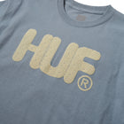 Load image into Gallery viewer, HUF HUF Logo Short Sleeve T-Shirt Womens Printed Tee Light Blue