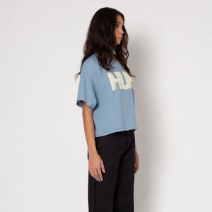 Womens HUF Logo Short Sleeve T-Shirt
