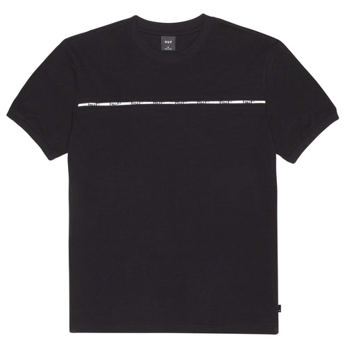 Huf Huf Set Short Sleeve Knit Top Black