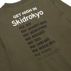 Load image into Gallery viewer, Huf Skidrokyo Get High Longsleeve T-shirt Military Green