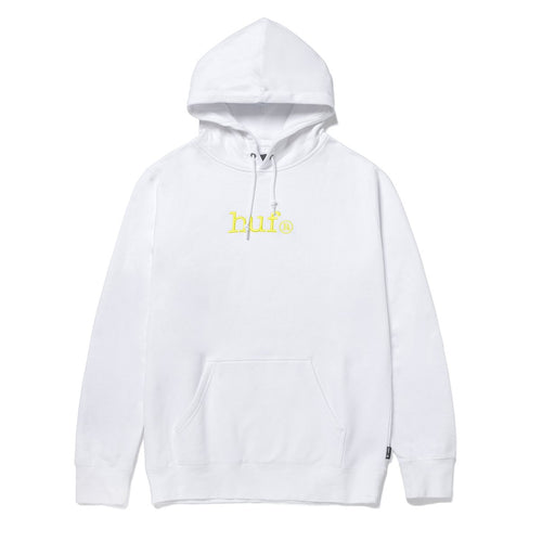 HUF Huf Type Pullover Hoodie White