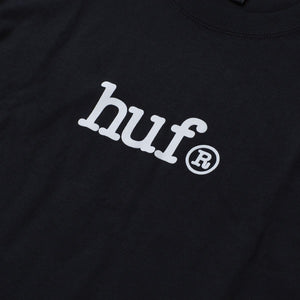 HUF Huf Type T-Shirt Black