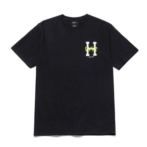 Huf X Cult T-shirt Black