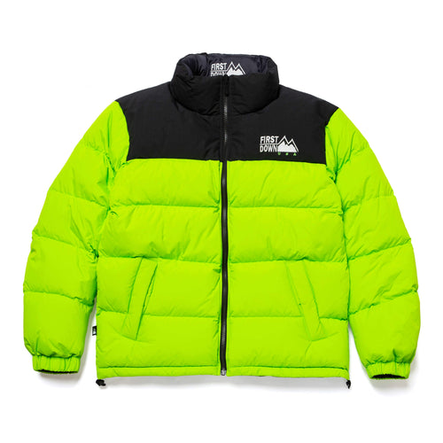HUF X First Down Jacket Green/Black