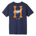 Load image into Gallery viewer, HUF itsaliving Classic H T-Shirt Mens Tee Navy