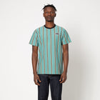 Load image into Gallery viewer, HUF Jerome YDS Short Sleeve Knit Beryl Green