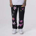 Load image into Gallery viewer, Huf Kei Fleece Pant Black