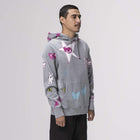 Load image into Gallery viewer, Huf Kei Pullover Hoodie Grey Heather