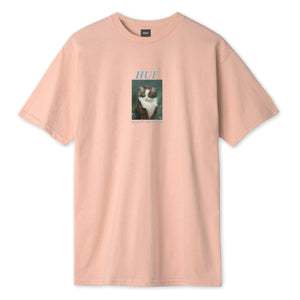 HUF Lost T-Shirt Coral Pink
