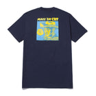 Load image into Gallery viewer, HUF Make Em Cry Dude T-Shirt French Navy