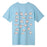 HUF Makin Bacon T-Shirt Mens Printed Tee Greek Blue