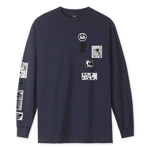 Huf Masters Long Sleeve T-shirt French Navy