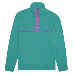 HUF Midtown 1/2 Zip Fleece Deep Jungle