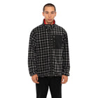 Load image into Gallery viewer, HUF Milton Rev Polar Fleece Jacket Mens Jacket Black