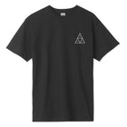 Load image into Gallery viewer, HUF Mirage Triple Triangle T-Shirt Black