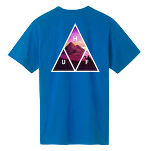 HUF Mirage Triple Triangle T-Shirt Turquoise