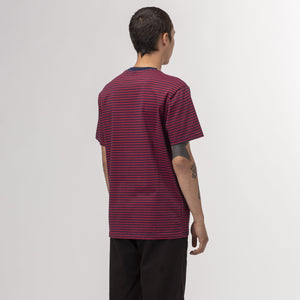 HUF Molly Striped Shirt True Red