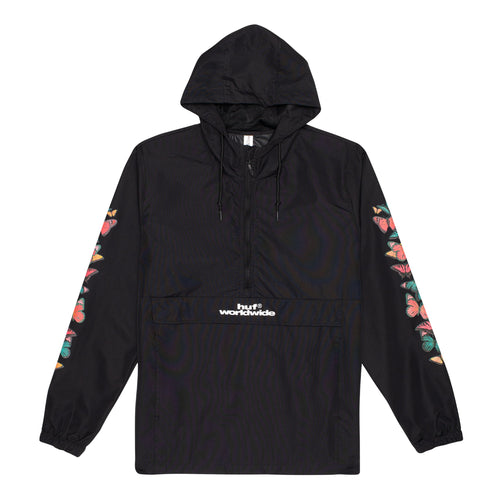 HUF Monarch Anorak Jacket Black