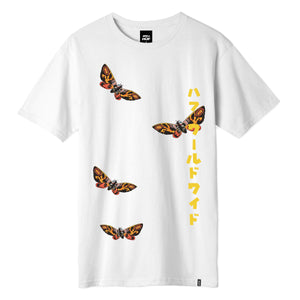 HUF MOTHRA T-SHIRT White