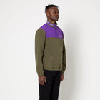 Load image into Gallery viewer, HUF Mountain 10K 1/4 Zip Mens Fleece Dusty Olive