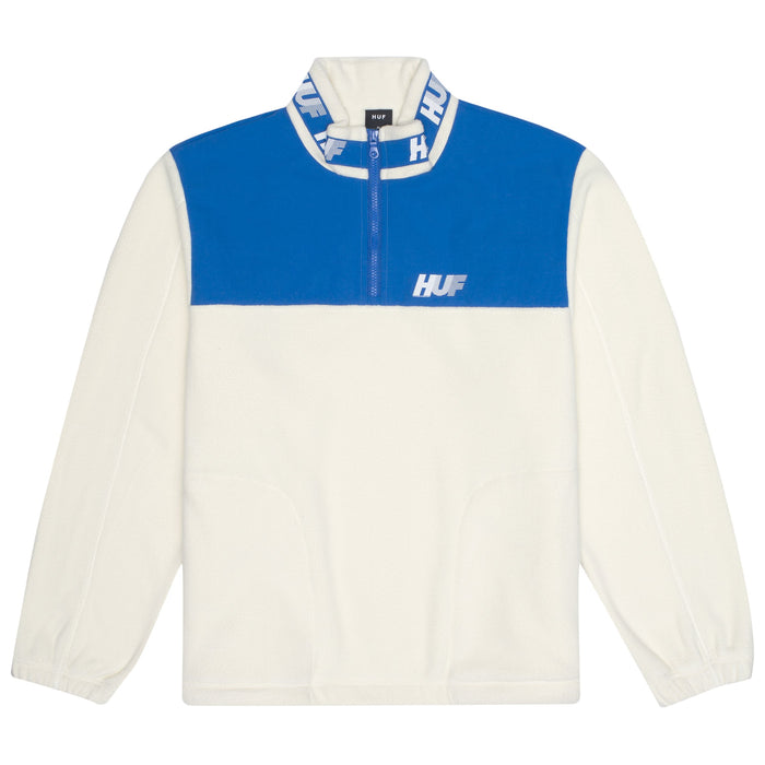 HUF Mountain 10K 1/4 Zip Mens Fleece NATURAL