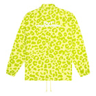Load image into Gallery viewer, HUF Neo Leopard Coach Jacket Mens Jacket Hot Lime