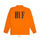 Load image into Gallery viewer, HUF Neue Marka Coaches Jacket Mens Jacket Russet Orange
