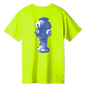 HUF Ollie T-Shirt Hot Lime