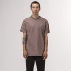 Load image into Gallery viewer, HUF Overdyed Vert Stripe Shirt Coral Pink
