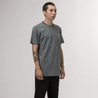 Load image into Gallery viewer, HUF Overdyed Vert Stripe Shirt Harbor Grey