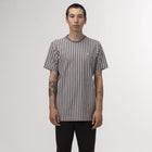 Load image into Gallery viewer, HUF Overdyed Vert Stripe Shirt Off White