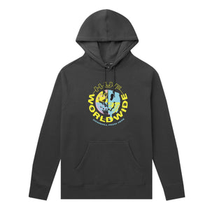 Huf Oxy Pullover Hoodie Black