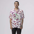 Load image into Gallery viewer, Huf Papillon Short Sleeve Woven Shirt Unbleached
