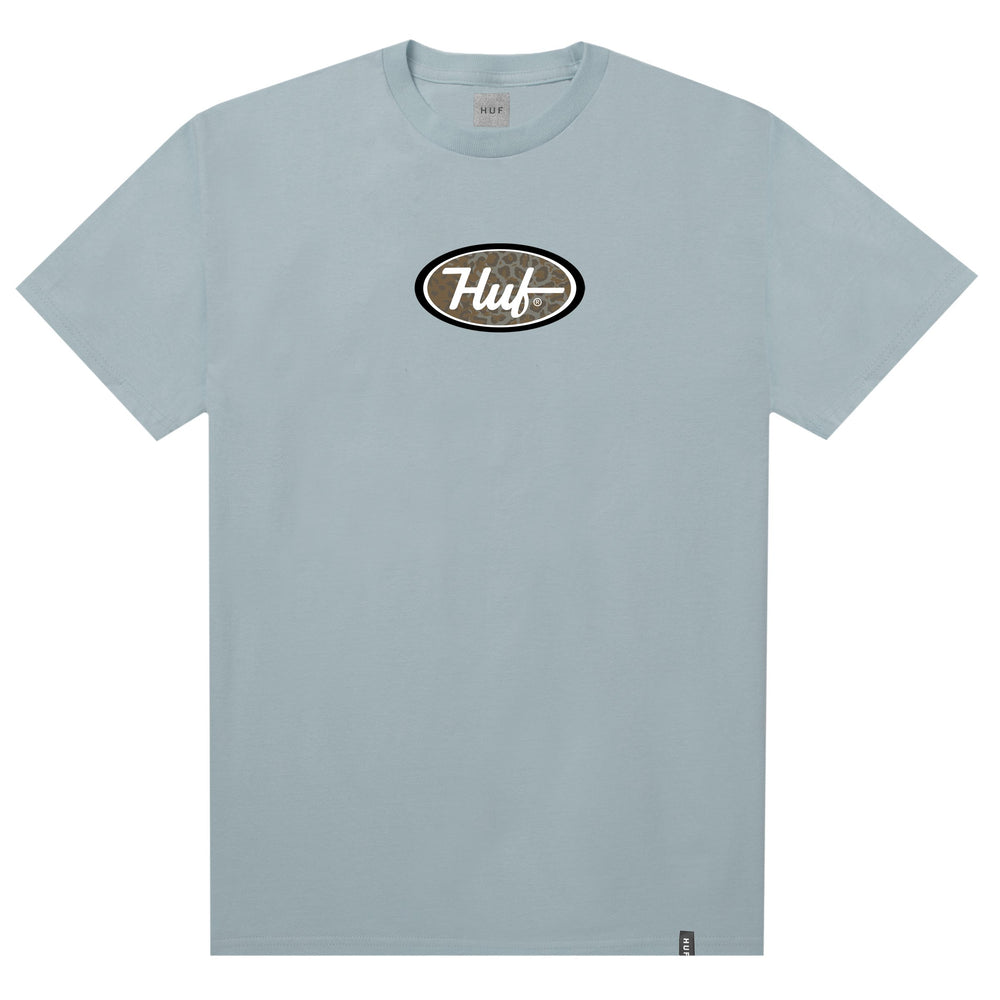 HUF Pch Logo T Shirt Mens Tee Cloud Blue