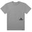HUF Peak 3.0 T Shirt Mens Tee Grey Heather