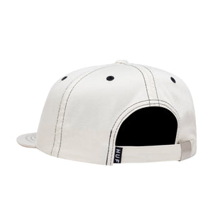 HUF Peak Contrast 6 Panel Mens Cap NATURAL