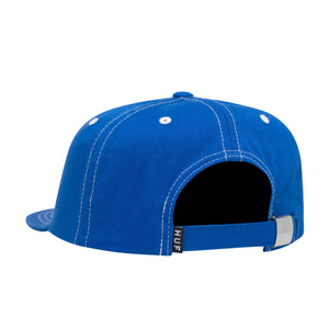 HUF Peak Contrast 6 Panel Mens Cap Olympian Blue