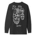 Load image into Gallery viewer, HUF Phil Frost LS Tee Black