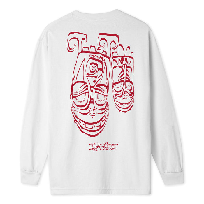 HUF Phil Frost LS Tee White