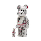 Load image into Gallery viewer, HUF Phil Frost Bearbrick Set White