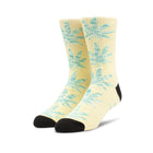 Load image into Gallery viewer, HUF Plantlife Melange Leaves Sock Banana