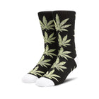 Load image into Gallery viewer, HUF Plantlife Melange Leaves Sock Black