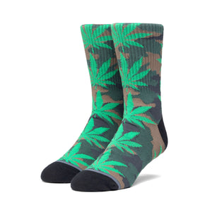 HUF Plantlife Pop Camo Sock Mens Sock Black