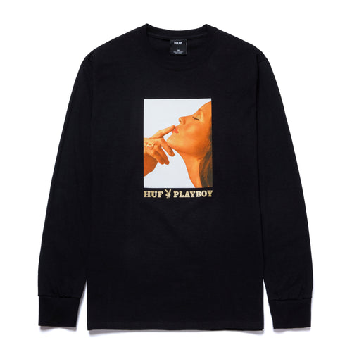 Playboy Lust For Life Longsleeve T-Shirt Black
