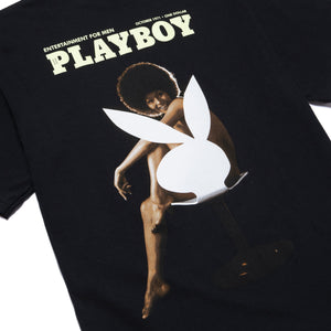 Playboy October 1971 T-Shirt Black