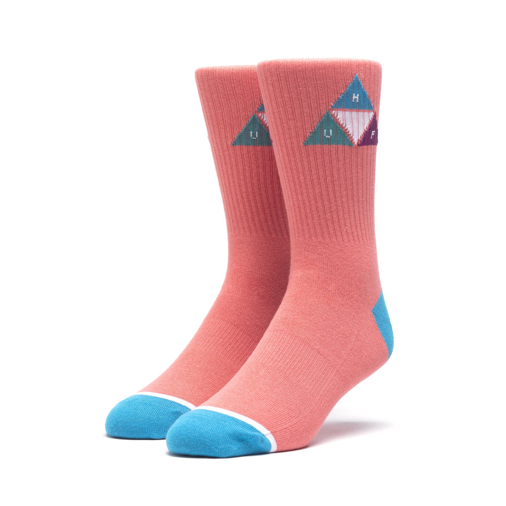HUF Prism Triangle Sock Mens Sock Desert Flower