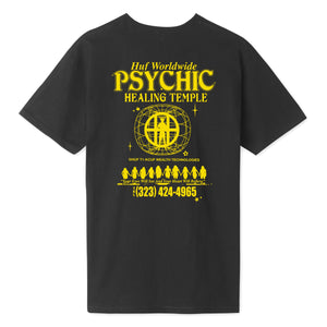 HUF Psychic Temple T-Shirt Black