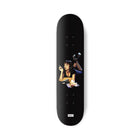 Load image into Gallery viewer, HUF Pulp Fiction Skateboard Deck Black